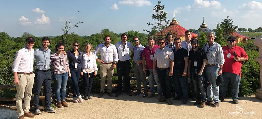 El equipo de Sánchez Garrido visitamos el parque temático Puy du Fou en Francia