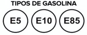 tipos de gasolina e5 e10 e85